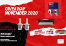 Giveaway November 2020